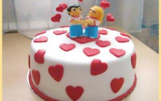 Идеи тортов на годовщину свадьбы