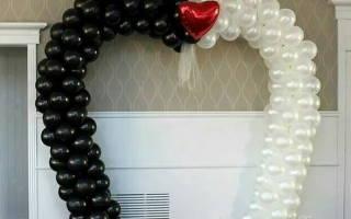 Как сделать фигуры из шаров на свадьбу, твистинг из воздушных шаров