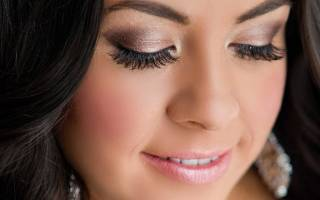 Фото свадебного макияжа со стрелками