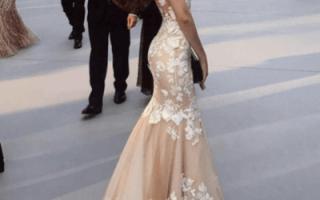 «Советы по выбору свадебных платьев пудрового цвета[