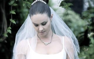 5 вариантов причесок для зимней свадьбы 2014