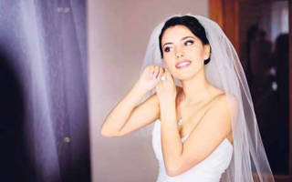«Подбираем правильный свадебный образ для невесты брюнетки[