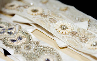 Свадебные платья с поясом (фото)
