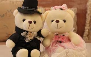 «Что значат свадебные мишки на свадебной машине?[