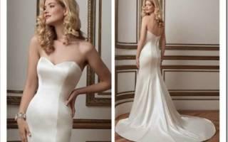 Шелковые свадебные платья, фото платьев невесты из шелка