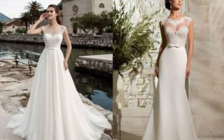 «Красивые свадебные платья для девушек маленького роста[