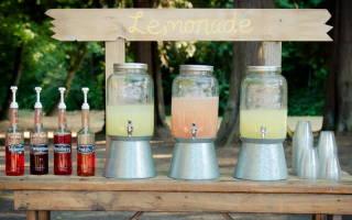 5 идей для летнего банкета на свадьбе