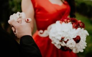 «Правила выбора букета невесты цвета марсала[