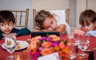 Дети на свадьбе, как развлечь детей на свадьбе