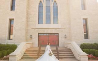 Свадебные платья со шлейфом (фото)