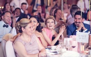 «Интервью на свадьбе – подборка подставных вопросов для гостей[